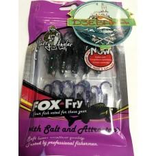 Силиконовая приманка Garry Angler Fox Fry Scorpaena фиолетовый с блесками