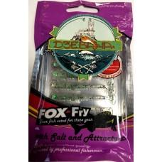 Силиконовая приманка Garry Angler Fox Fry Pargrus прозрачный с зел.блесками