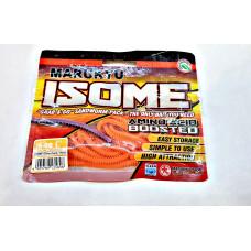 Силиконовая приманка Marukyu Isome (L) IS-08 glow orange