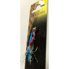 Пилькер Anaconda 3.5 грамм (цв. бело-голубой)