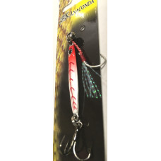 Пилькер Anaconda 5 грамм (цв. бело-красный)